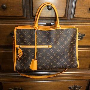 LOUIS VUITTON Popincourt MM handbag Safran